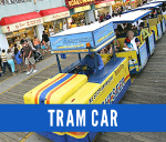 Tram Car Ticket Book
